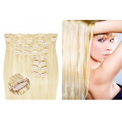 Extensions à Clips max volume blond platine